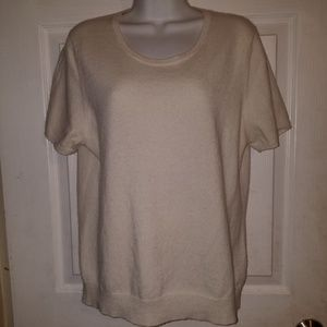 Charter Club 100% Cashmere Pullover Sweater Top